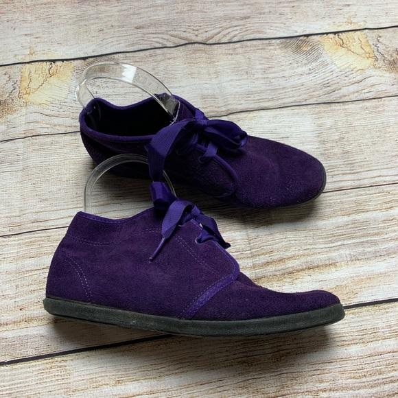 Keds Shoes - Keds essentials purple booties 7
